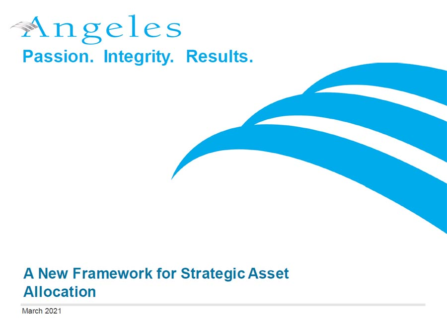 A New Framework to Strategic Asset Allocation Presentation