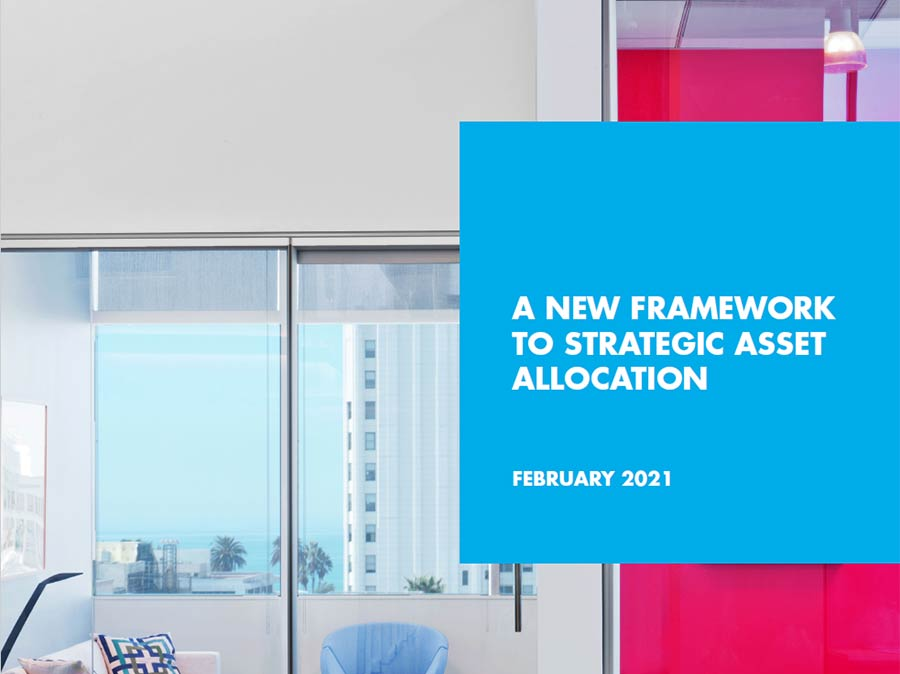A New Framework to Strategic Asset Allocation White Paper