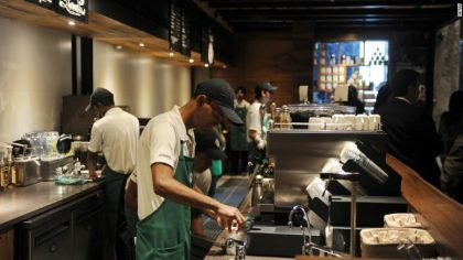 STARBUCKS WILL LET EMPLOYEES SPLIT THEIR TIME AT A NONPROFIT
