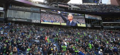 REPORT: IN WAKE OF PAUL ALLEN'S DEATH, SEAHAWKS WILL EVENTUALLY BE SOLD, POSSIBLY FOR RECORD AMOUNT