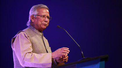 NOBEL WINNER MUHAMMAD YUNUS WANTS TWO FINANCIAL SYSTEMSONE FOR THE RICH AND ONE FOR THE POOR