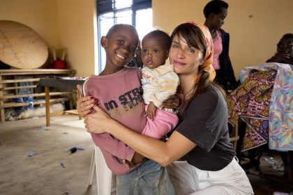 HELENA CHRISTENSEN URGES SUPPORT FOR WORLD'S MOST UNDERFUNDED REFUGEE CRISIS