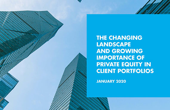 THE CHANGING LANDSCAPE AND GROWING IMPORTANCE OF PRIVATE EQUITY
